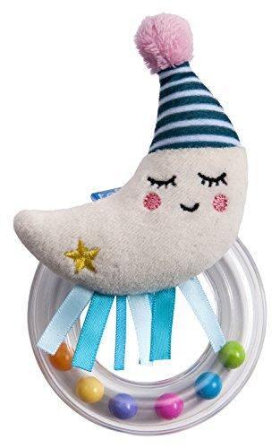 Preisvergleich Produktbild Taf Toys 12065 Kleine Rassel 'Mond', mehrfarbig