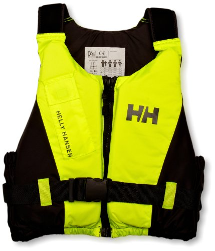 Helly Hansen Rider Vest, Gilet di salvataggio, Giallo, Capacità 50/60 kg