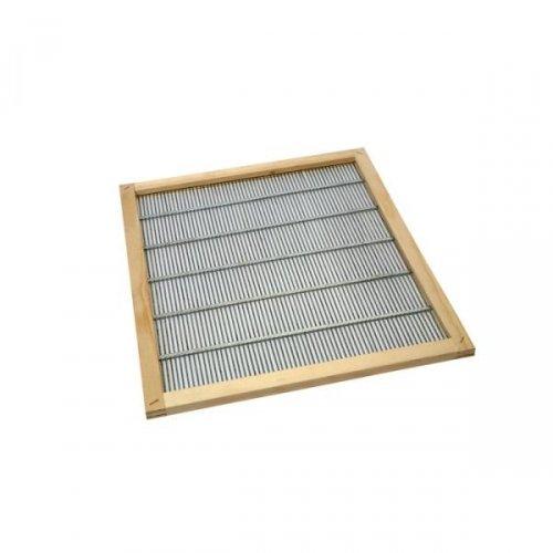 escludi Reine à grille avec châssis en bois 50 x 50 cm