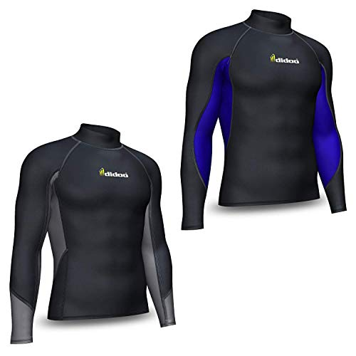 41Xw%2B5wfXSL. SS500  - Didoo Compression Base Layer Top Thermal Long Sleeve Men Full Sleeve T-shirt COLD Wear Mock Neck Gym Fitness Training For Outdoor Sports