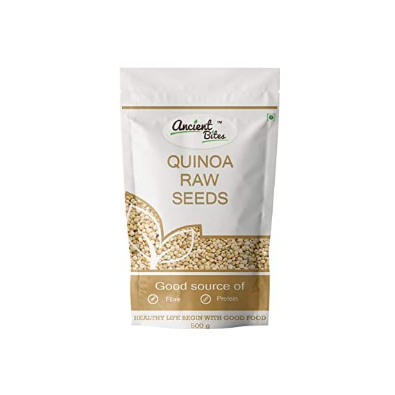 Ancient Bites Raw Quinoa Seeds (500 gm)