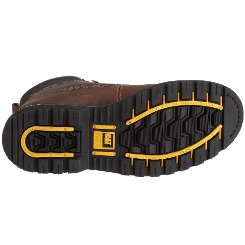 Caterpillar Holton Marrone Brown Stivali Dark Uomo r0Svq0wx7