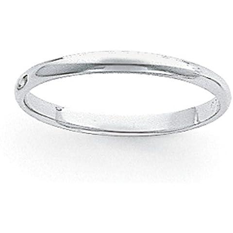 Icecarats Designer Di Gioielli Dimensione 8 3 Millimetri Di Platino Banda Semicircolare Piuma - 8 Millimetri Platinum Wedding Band