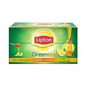 Lipton Honey Lemon Green Tea Bags, 25 Pieces