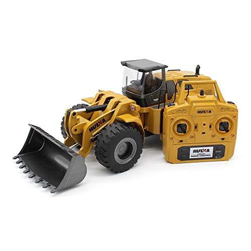 RC Auto kaufen Baufahrzeug Bild 5: s-idee® 18168 Metall Radlader 1:14 Profi mit Sound und Licht die Cast rc Modell Huina 583 1583*