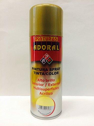 Adoral - Esmalte en Spray Pintura Metalizada Sintética 400 ml (Metali