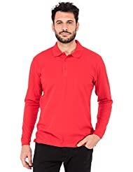 Fruit of the Loom Premium Long Sleeve, Polo para Hombre
