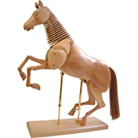 JAS : Wooden Horse 16In