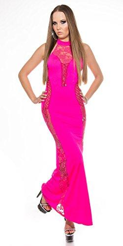 In-Stylefashion - Robe - Femme Orange Orange Taille unique Rose - Rose bonbon