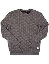 Pull Sixth June motifs ronds gris 1134V
