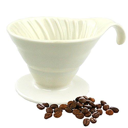 Kaffee Filter Handfilter Porzellan Permanent Filter Für 2 Bis 4 Tassen Exzellenter Aromareicher Kaffeegeschmack