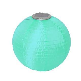 Allsop Home & Garden Soji Original Round Nylon Solar Lantern 10