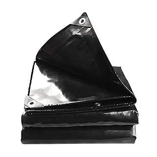 tarpaulin Plane - Black Stage Plane Push-Pull Schuppentuch PVC Messer Abstreifgewebe