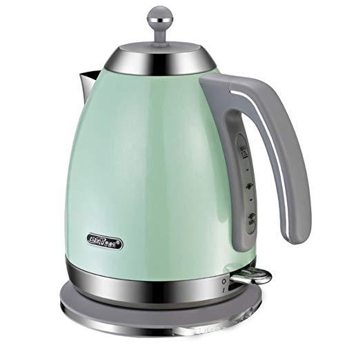DRSH Home Water Dispenser Kettle - 1,7 L Metallkanne Mit Hohem Fassungsvermögen Sofort Heißes Kochendes Wasser, Gebürsteter Edelstahl, BPA-frei - Schnurloser 360 ° Multi-Boiler