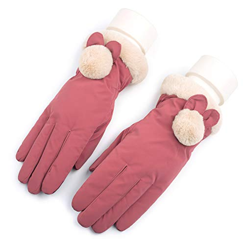 Gloves Cycling Ski Running Windproof Ms Riding Keep Warm Plus Velvet Thicken Ski Touch Screen Outdoor ZHAOYONGLI