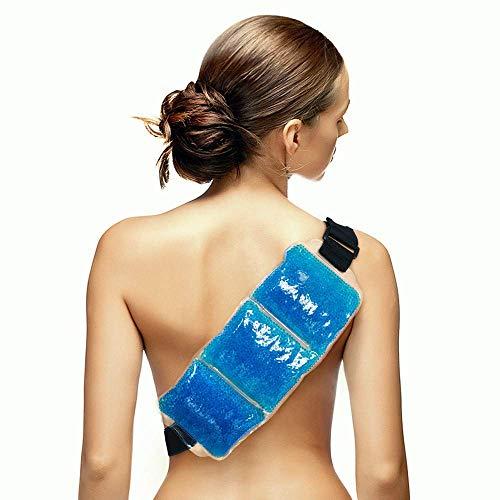 faea0dcf2c Terapia Wrap riutilizzabili Hot & Cold gel Beads Best Ice Pack velcro  elastico per lombari sciatica