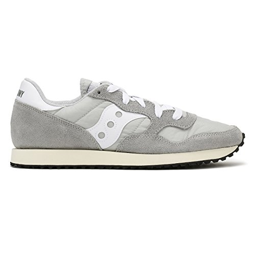 Saucony DXN Trainer Vintage, Baskets Homme Gris (Gry/wht 4)