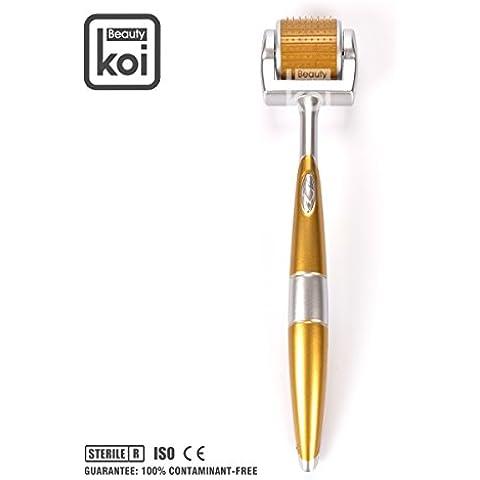 Koi Beauty 192 Facial Derma Roller Rodillo Rollo 0,5mm de Micro Agujas para Piel Cara