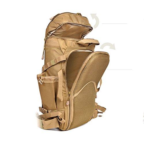 zaino trekking Uomini E Donne di grande capienza posteriore spalla esterna Zaino Trekking bagagli scalata sacchetto 30 * 20 * 58 centimetri Zaini da escursionismo ( Colore : B , dimensioni : 30*20*58c A