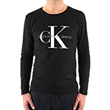 CALVIN KLEIN - Camiseta de manga larga para hombre J3IJ302251 - negro, L