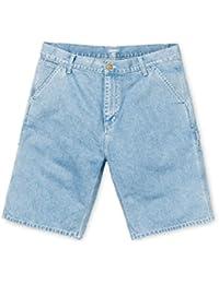 Carhartt Ruck Single Knee Short hommes, shorts jeans, turquoise