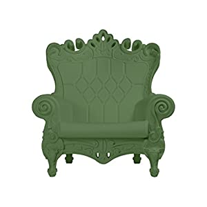 Design of Love – Slide Design – Little Queen of Love Baby armchair Malva Green