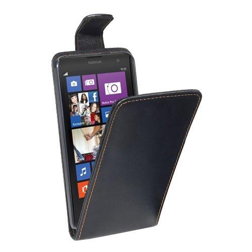 PEDEA Flipcase Hülle für Nokia Lumia 1020 Tasche, schwarz (Nokia 1020 Schwarz Lumia Tasche)