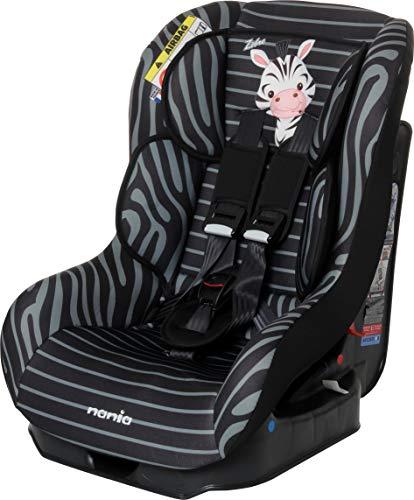 Osann Kinderautositz Safety Plus NT Zebra schwarz, 0 bis 18 kg, ECE Gruppe 0 / 1, von Geburt bis ca. 4 Jahre, reboard bis 10 kg nutzbar (Zebra Kindersitz)