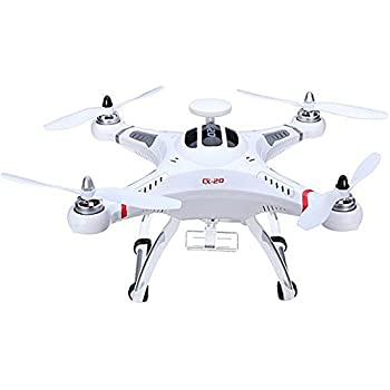 Cxhobby CX Car in Pathfinfer 20 RC Quadcopter RTF Drone FPV 6 Axis GPS MX Classic Helicopter UFO Aircraft Toy with GoPro Camera Mount – White
