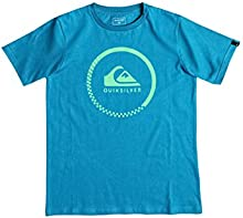 Quiksilver SS Classic Youth Active Chec - Camiseta para niño