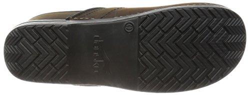 Couro Marrom Oleado Sapatos Mulas Antigo Preto De Couro Dansko Profissional De qw7pxnvEX