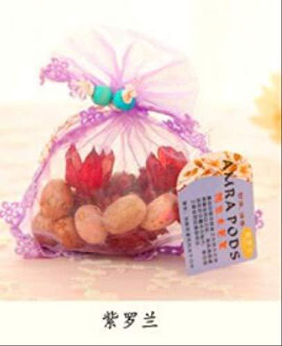 txxzn Borsa Profumata Profumata Sachet Bag Home Fragrance Fragrance-Resistant Profumo Satchel for Wardrobe Car 1 PCS Vio