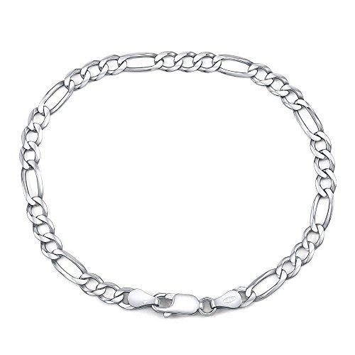 Armband Männer 925 Sterling Silber (Silberarmband Herren 925 Sterling Silber rhodiniert (20))