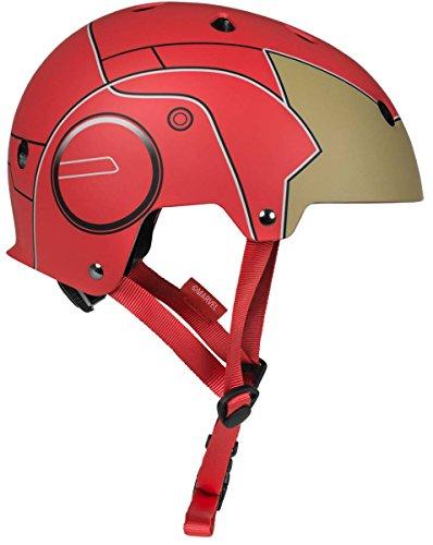 Powerslide Marvel Iron Man Allround Helm Rot Rot, 50-54 cm (XS)