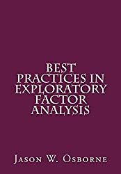 Best Practices in Exploratory Factor Analysis (English Edition)