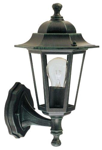 Papillon 8193055 Lampe d'extérieur Jardin Hexagonal Support bas Couleur vert