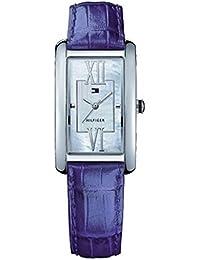 Tommy Hilfiger 1781018 - Reloj para mujeres, correa de cuero multicolor