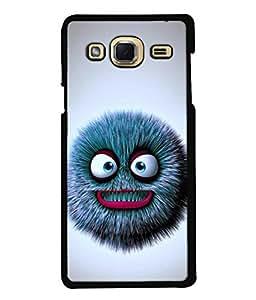 Fuson Designer Back Case Cover for Samsung Galaxy J3 (6) 2015 :: Samsung Galaxy J3 2015 Duos :: Samsung Galaxy J3 2016 J320F J320A J320P J3109 J320M J320Y (Angry Bird Teeth Biting Fierce Ferrocious Violent)