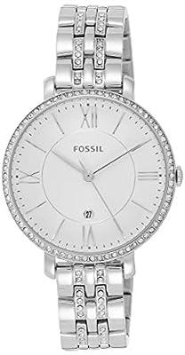 Fossil Reloj Analógico para Mujer de Cuarzo con Correa en Acero Inoxidable ES3545 de FOX84