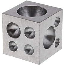 IPOTCH Dapping Block de Latón con 18 Cavidades Redondas Herramienta para Fabricación ...