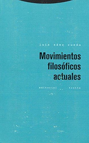 Movimientos filosoficos actuales (Estructuras y Procesos. Filosofia) por Luis Saez Rueda epub