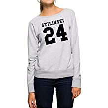 Stilinski 24 Sweater Girls Gris
