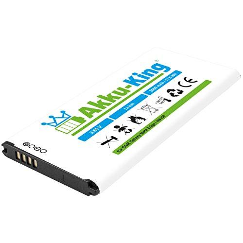 Akku-King Akku kompatibel mit Samsung EB-BN915BBC, EB-BN915BBE - Li-Ion 3000mAh - für Galaxy Note Edge, Edge 4G, F-N915F, SM-N9150