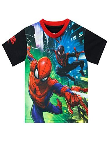 Marvel Jungen Spiderman T-Shirt Mehrfarbig 110