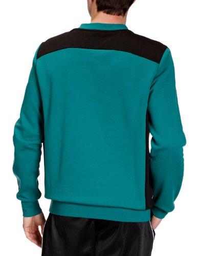 PUMA Herren Sweatshirt Foundation Team Green/black