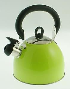 Retro & Funky 2.5 Litre Lime Green Whistling Kettle