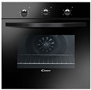 Candy FLE502/6N - ovens (Built-in, Electric, A, Black, Rotary, Top front)