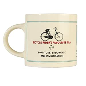Coffee Tea Mug - Choice Of Design ( Bicycle Rider's Favourite )