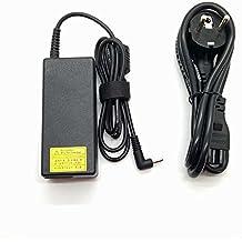 Adaptador Cargador Nuevo Compatible para portátiles UltraBook ACER de punta pequeña 3.0mm x 1.1mm 19v 3,42a y 2,37a compatibles de la lista en descripción