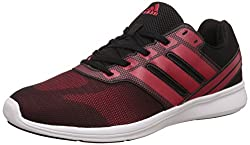adidas Mens Adi Pacer Elite M Cblack and Scarle Running Shoes - 9 UK/India (43.33 EU)